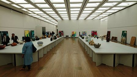 作業日誌(「第43回日本新工芸展」作品搬入展示作業)_c0251346_16181781.jpg
