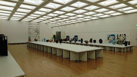 作業日誌(「第43回日本新工芸展」作品搬入展示作業)_c0251346_16184029.jpg