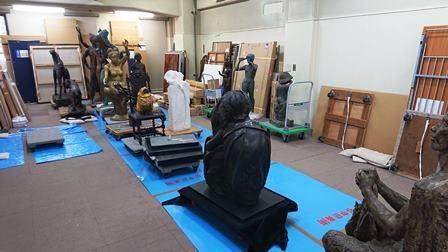 作業日誌(第50回記念日本彫刻会特別展作品写真撮影業務)_c0251346_16230715.jpg