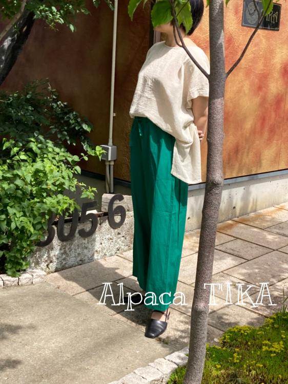 天然素材の涼しいお洋服入荷しました☆ゴールドマン・エケコ人形_d0187468_16393985.jpg