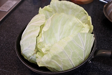 花豆五穀ご飯と春キャベツのサンパプ(韓国風包みご飯)_a0223786_13553729.jpg