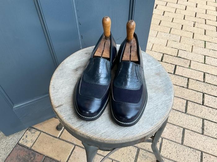"""N.O.S. 50's """"Waukege Casuals"""" two-tone rockabilly shoes_e0343648_16411468.jpeg"""
