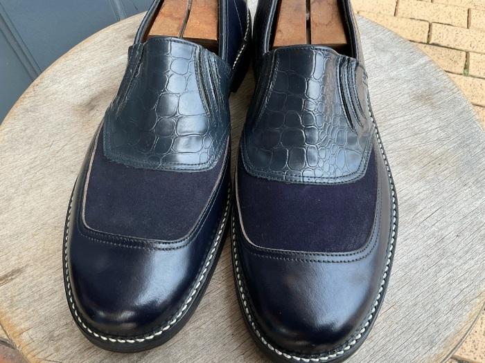 """N.O.S. 50's """"Waukege Casuals"""" two-tone rockabilly shoes_e0343648_16442852.jpeg"""