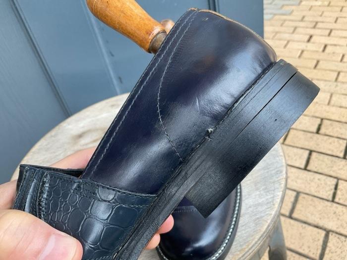 """N.O.S. 50's """"Waukege Casuals"""" two-tone rockabilly shoes_e0343648_17134942.jpeg"""
