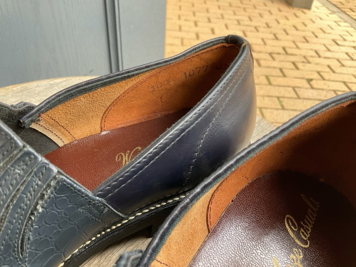 """N.O.S. 50's """"Waukege Casuals"""" two-tone rockabilly shoes_e0343648_17163763.jpeg"""