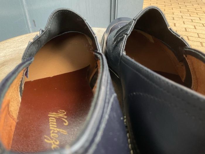 """N.O.S. 50's """"Waukege Casuals"""" two-tone rockabilly shoes_e0343648_17210740.jpeg"""
