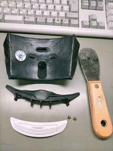 アライ ヘルメット 修理致します!_b0163075_08464424.jpg