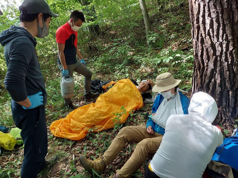 野外救命講習 救助事例から学ぶリスクマネジメントと感染対策_e0231387_09364679.jpg