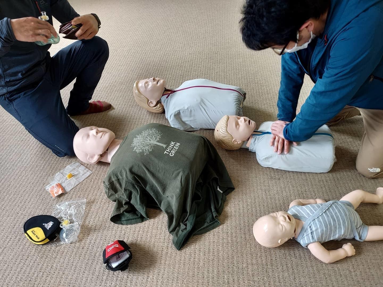 野外救命講習 救助事例から学ぶリスクマネジメントと感染対策_e0231387_09370959.jpg