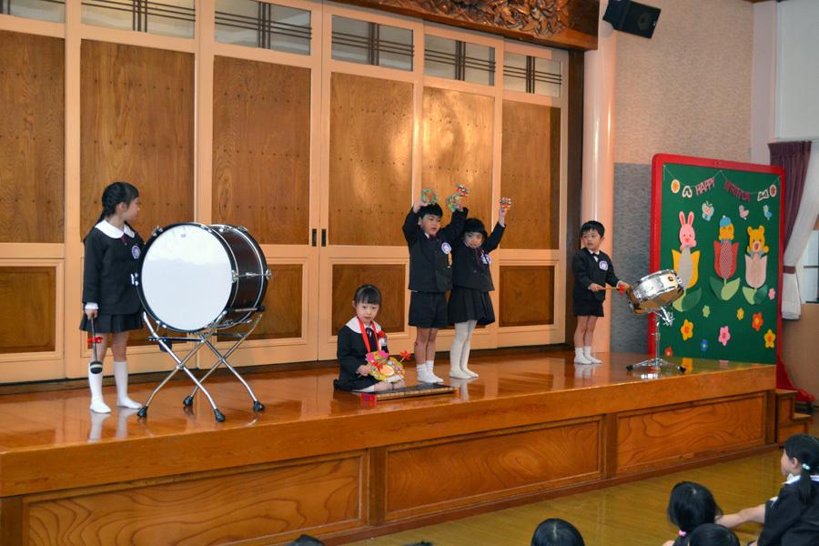 第一幼稚園の「お誕生会」_d0353789_15475101.jpg