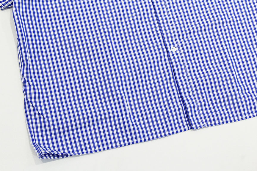 """Necessary or Unnecessary \"""" SLOPING S/S \'GINGHAM \""""_b0122806_14175603.jpg"""