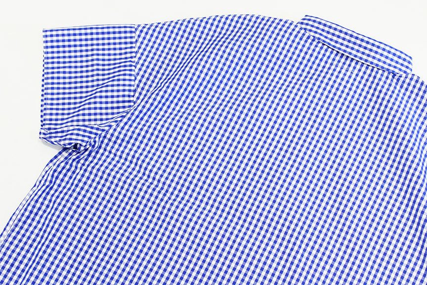 """Necessary or Unnecessary \"""" SLOPING S/S \'GINGHAM \""""_b0122806_14180007.jpg"""