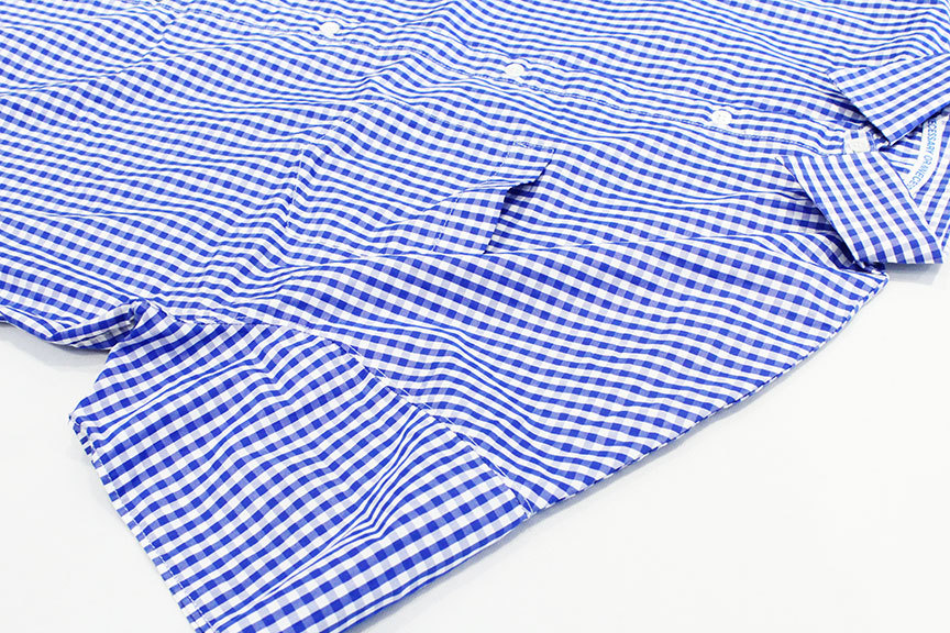 """Necessary or Unnecessary \"""" SLOPING S/S \'GINGHAM \""""_b0122806_14181906.jpg"""