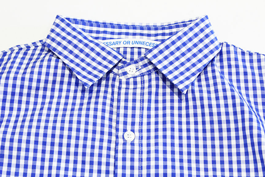 """Necessary or Unnecessary \"""" SLOPING S/S \'GINGHAM \""""_b0122806_14182380.jpg"""