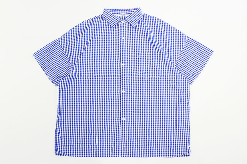 """Necessary or Unnecessary \"""" SLOPING S/S \'GINGHAM \""""_b0122806_14182610.jpg"""