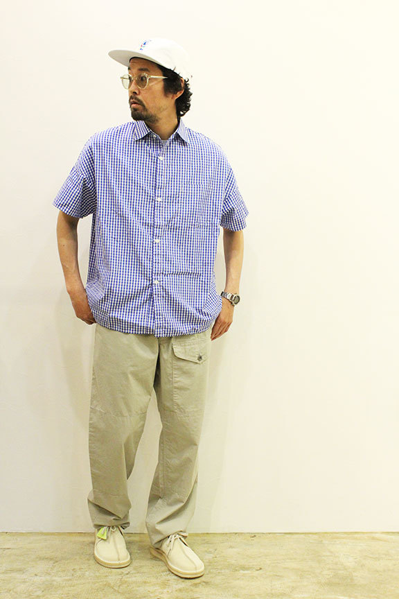"""Necessary or Unnecessary \"""" SLOPING S/S \'GINGHAM \""""_b0122806_14184060.jpg"""