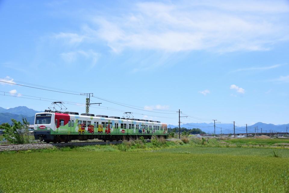 上信電鉄のカラフルな車両ー2020年5月17日ー_a0385725_22335547.jpg