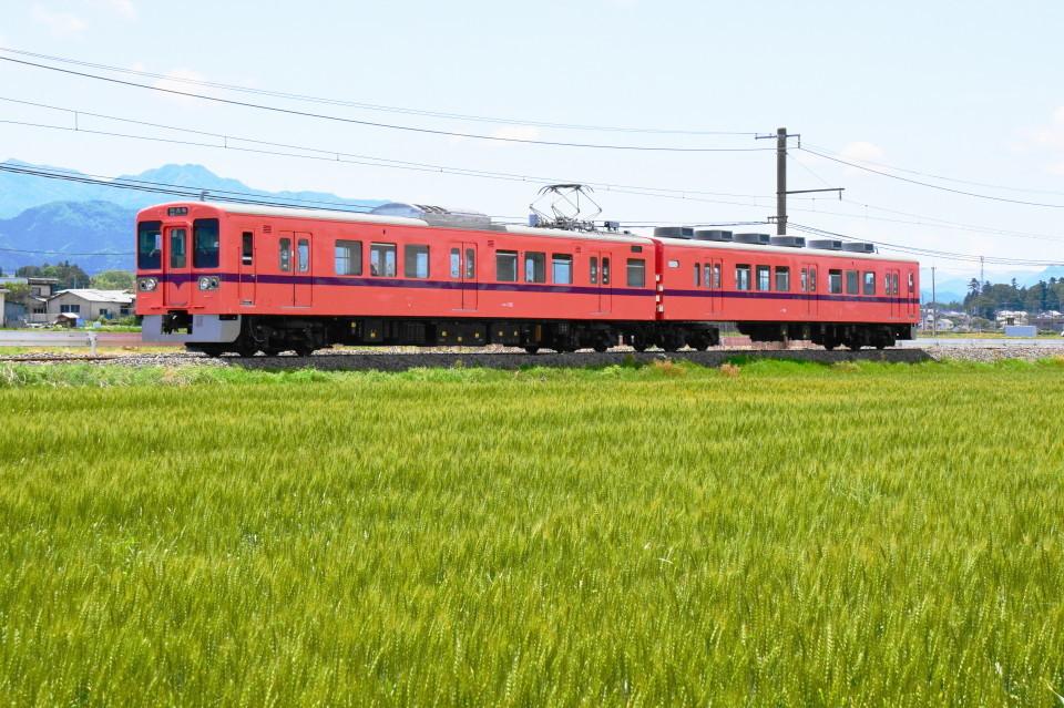 上信電鉄のカラフルな車両ー2020年5月17日ー_a0385725_22340155.jpg