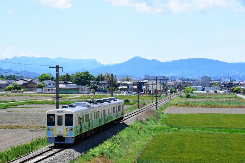上信電鉄のカラフルな車両ー2020年5月17日ー_a0385725_22340958.jpg