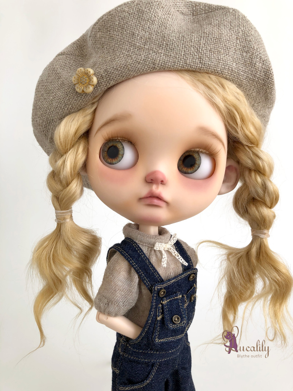 *lucalily * dolls clothes* Overall set*_d0217189_11385193.jpeg