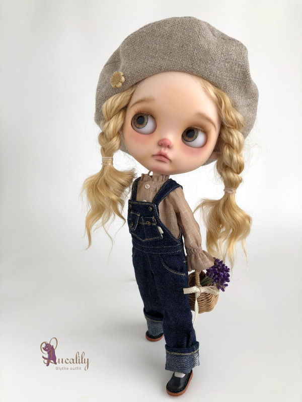 *lucalily * dolls clothes* Overall set*_d0217189_11394458.jpg