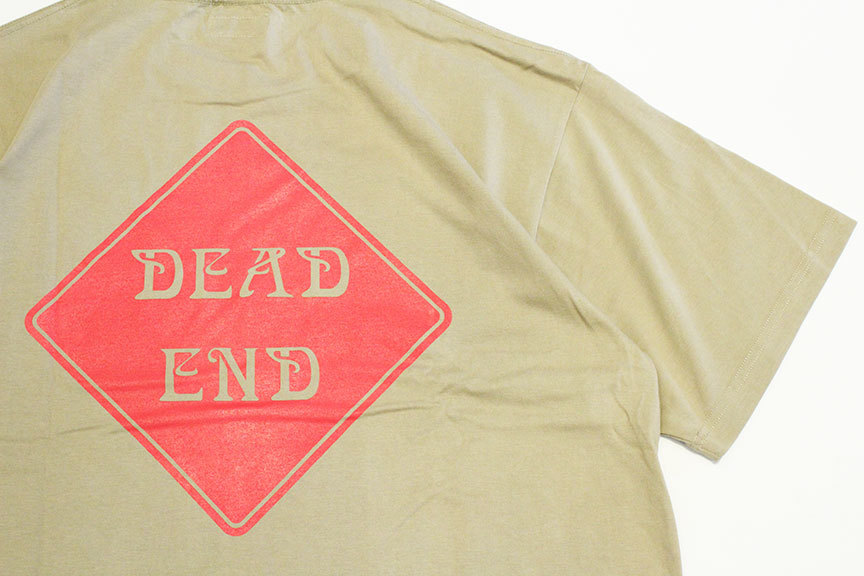 "ONEWAY (ワンウェイ) \"" DEAD END S/S TEE \""_b0122806_13080572.jpg"