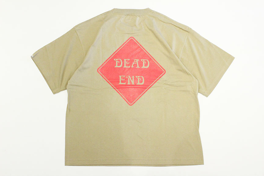 "ONEWAY (ワンウェイ) \"" DEAD END S/S TEE \""_b0122806_13082144.jpg"