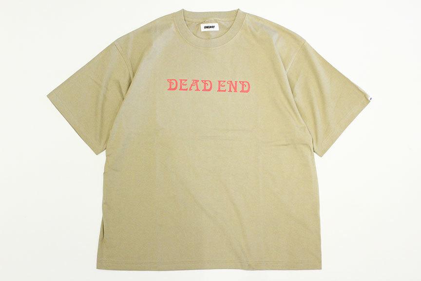 "ONEWAY (ワンウェイ) \"" DEAD END S/S TEE \""_b0122806_13082416.jpg"