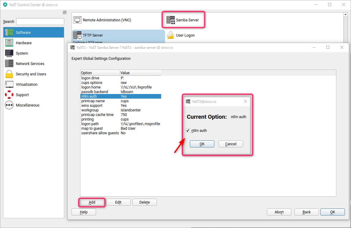 /var の容量不足で samba にログインできなくなった件 openSUSE Leap 15.2_a0056607_15263820.png