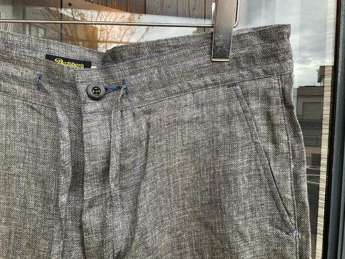 Dapper\'s classical pencil stripe linen easy pants_e0343648_23562833.jpeg
