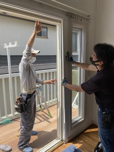 窓サッシ改修_e0190287_16265322.jpeg