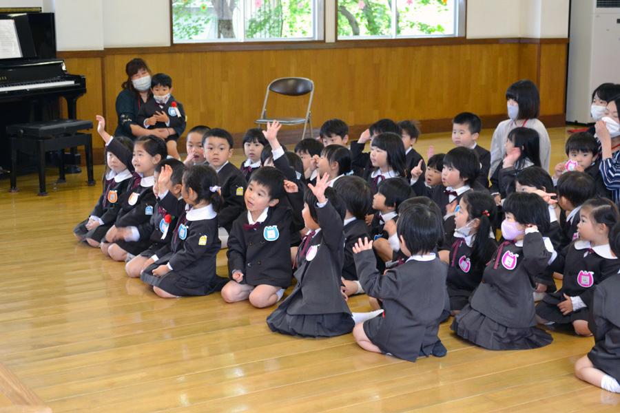 第二幼稚園「お誕生会」_d0353789_11225142.jpg