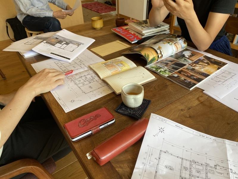 「小富士kitchen garden house」の打ち合わせでした。_e0029115_10461525.jpg