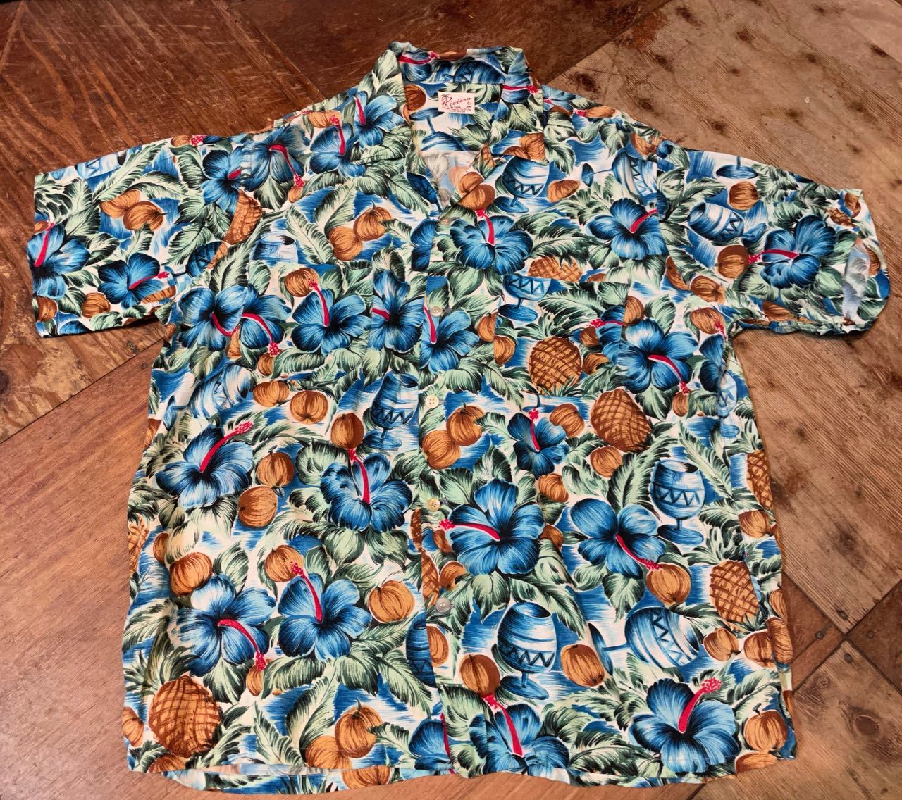 6月1日(火)60s Riviera rayon Hawaiian shirts_c0144020_14111864.jpg
