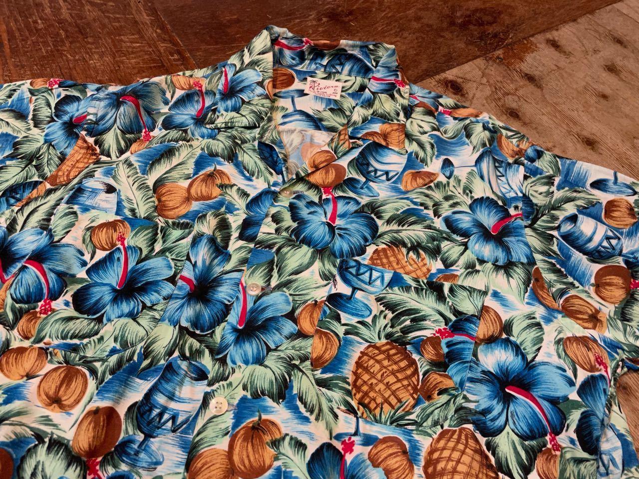 6月1日(火)60s Riviera rayon Hawaiian shirts_c0144020_14111914.jpg