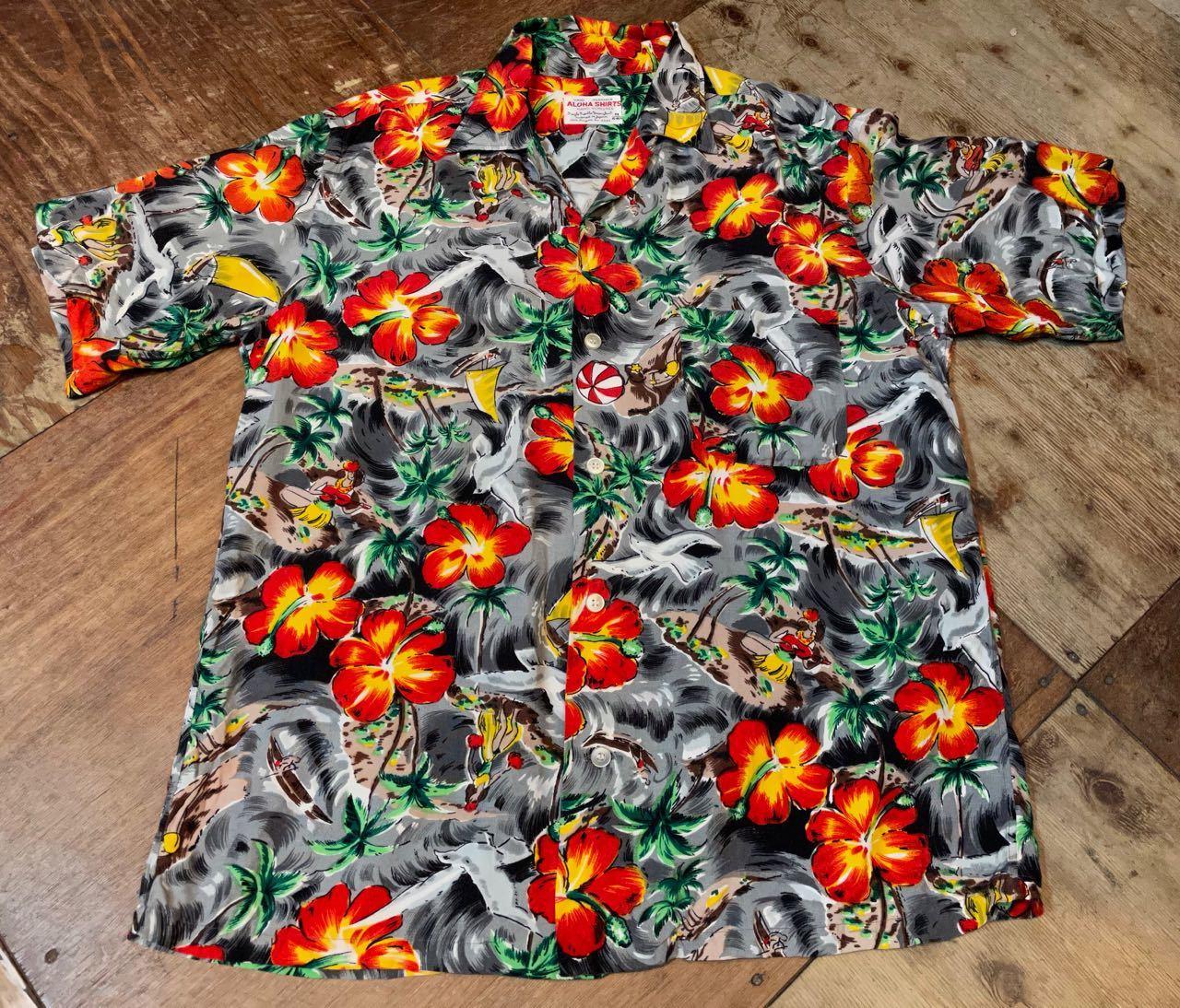 6月1日(火)入荷!60s rayon Hawaiian shirts! _c0144020_14112405.jpg