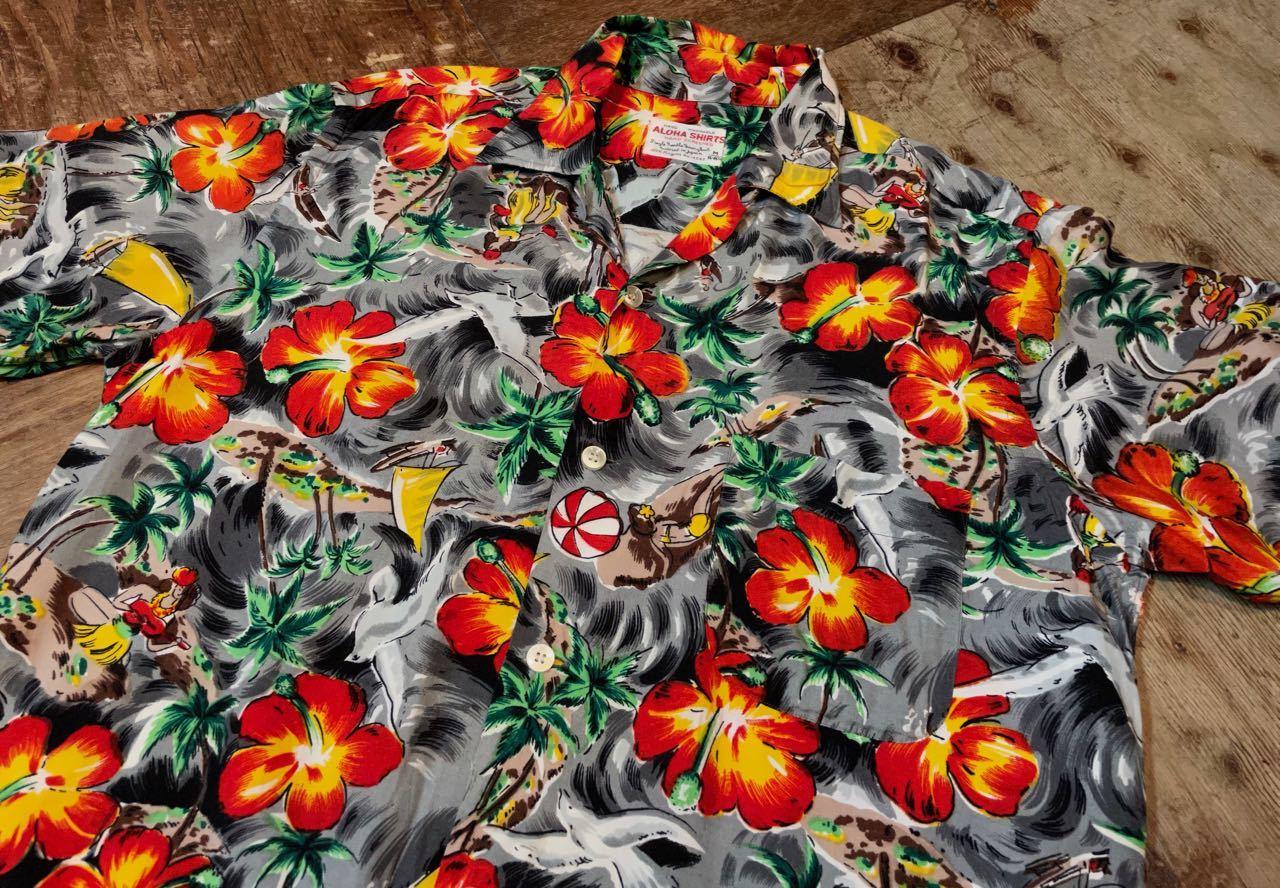 6月1日(火)入荷!60s rayon Hawaiian shirts! _c0144020_14113322.jpg