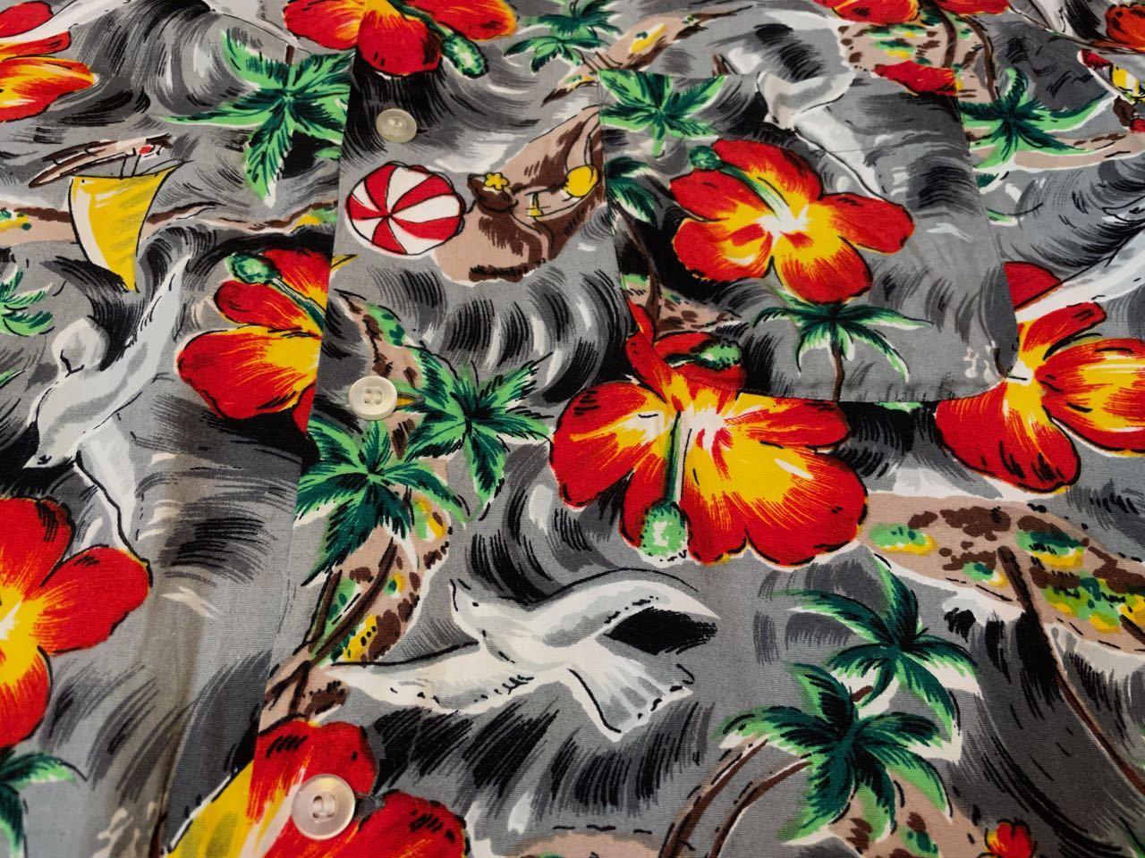 6月1日(火)入荷!60s rayon Hawaiian shirts! _c0144020_14113795.jpg