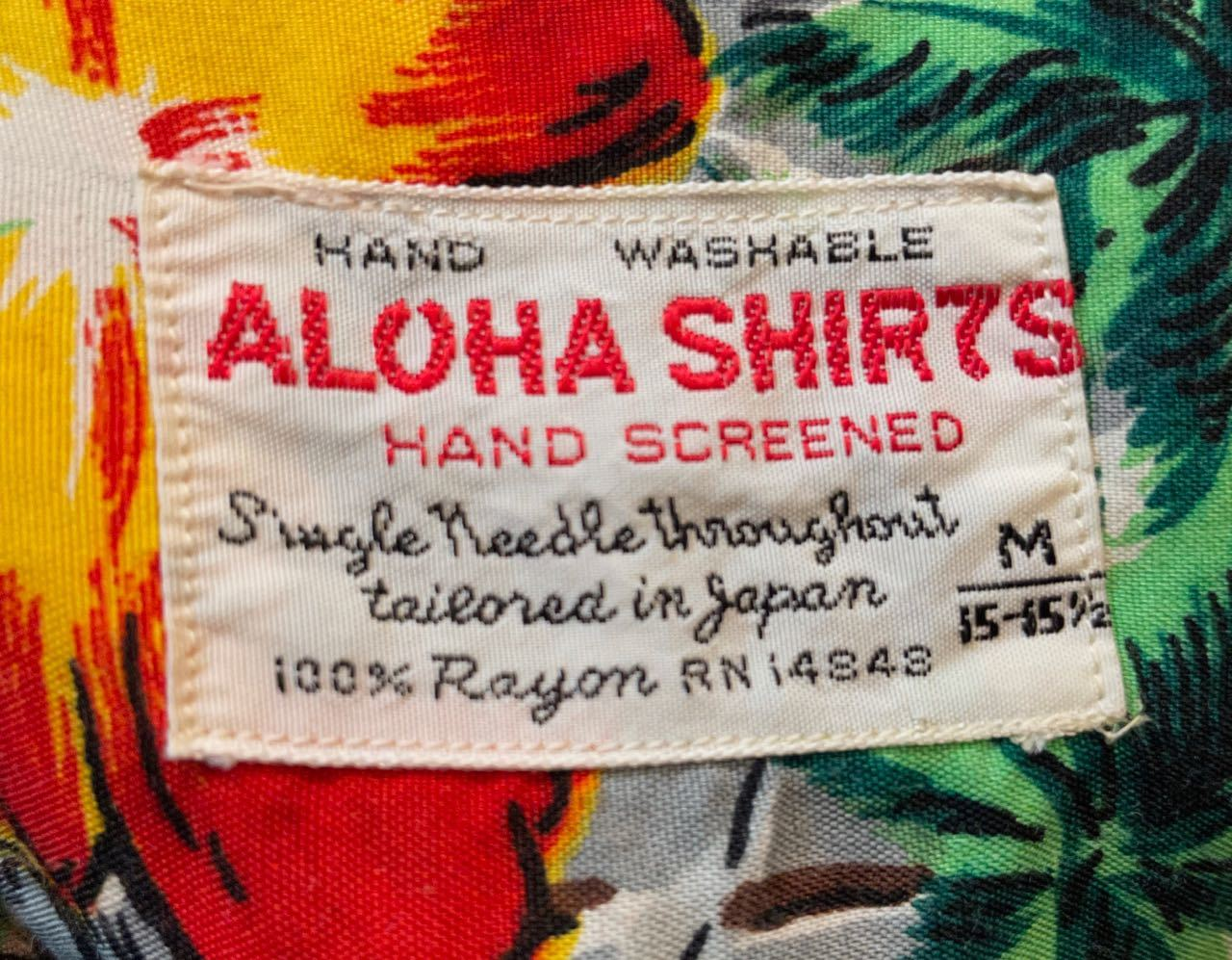 6月1日(火)入荷!60s rayon Hawaiian shirts! _c0144020_14113905.jpg