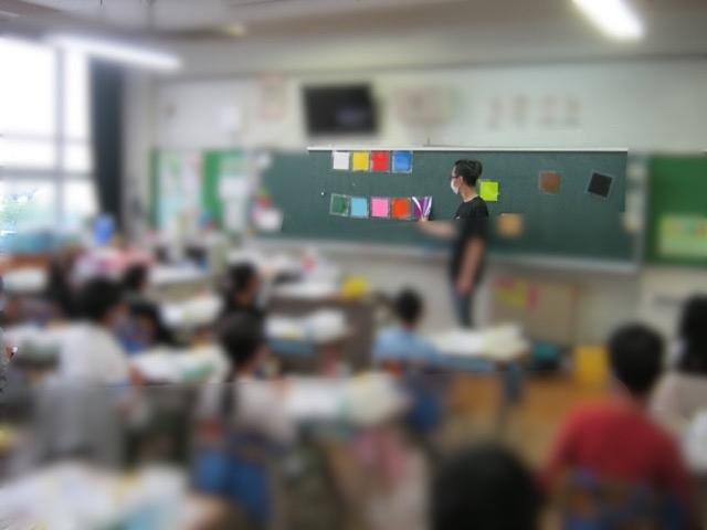 名古屋市の稲生小学校で図工の授業をしてきました。(写真付き)_f0373324_16420966.jpg