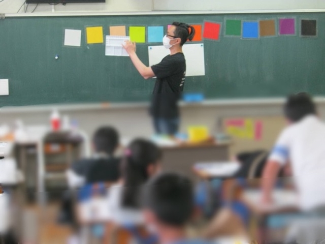名古屋市の稲生小学校で図工の授業をしてきました。(写真付き)_f0373324_16421308.jpg