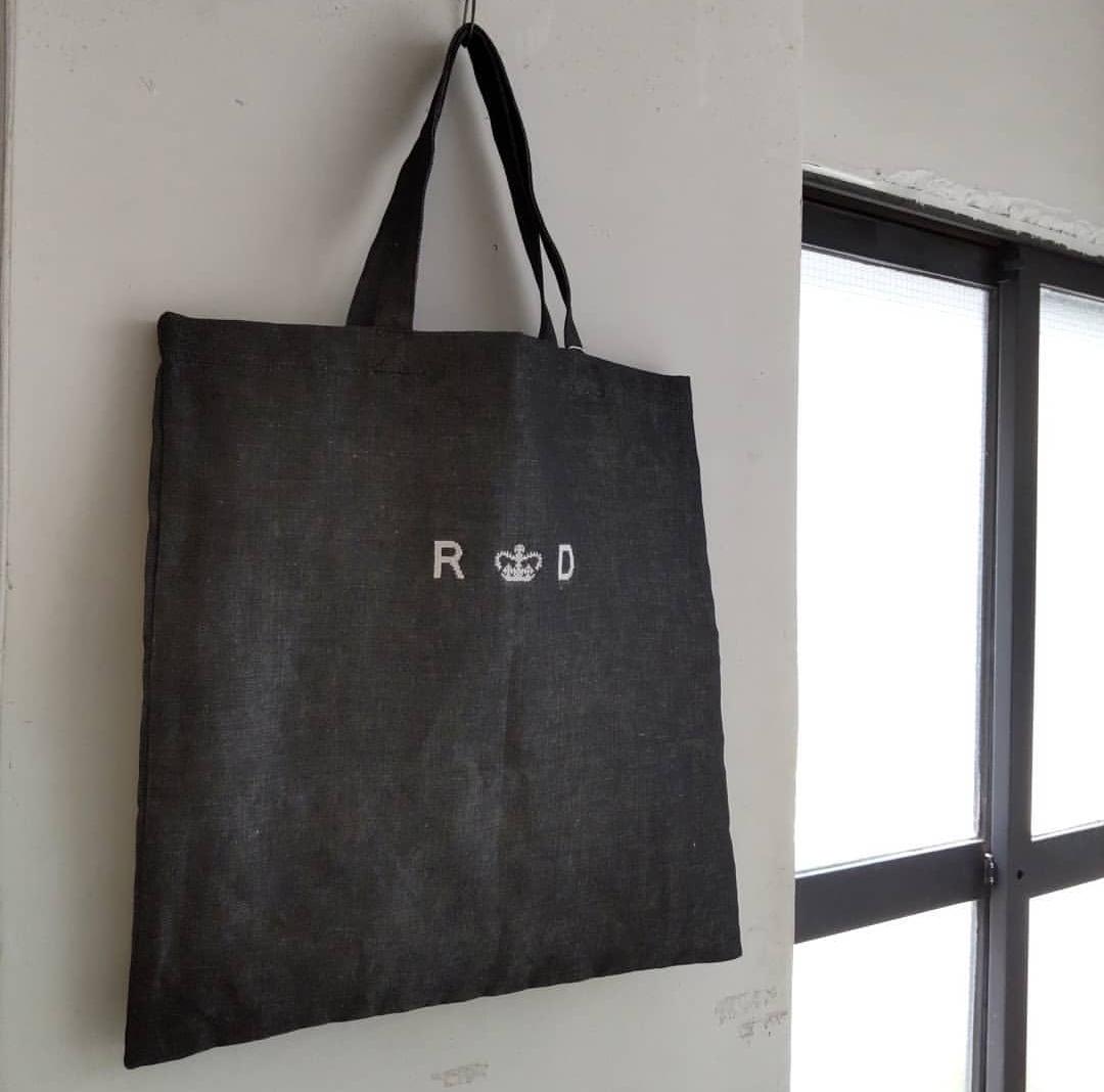 R&D.M.Co-LINEN DENIMTOTE BAG..._f0120026_06513923.jpg