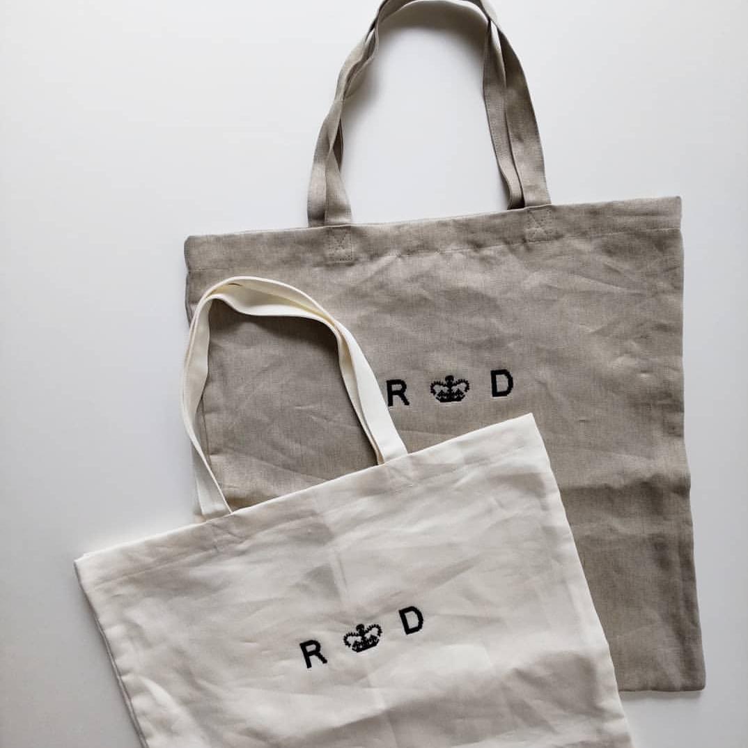 R&D.M.Co-LINEN DENIMTOTE BAG..._f0120026_06513934.jpg