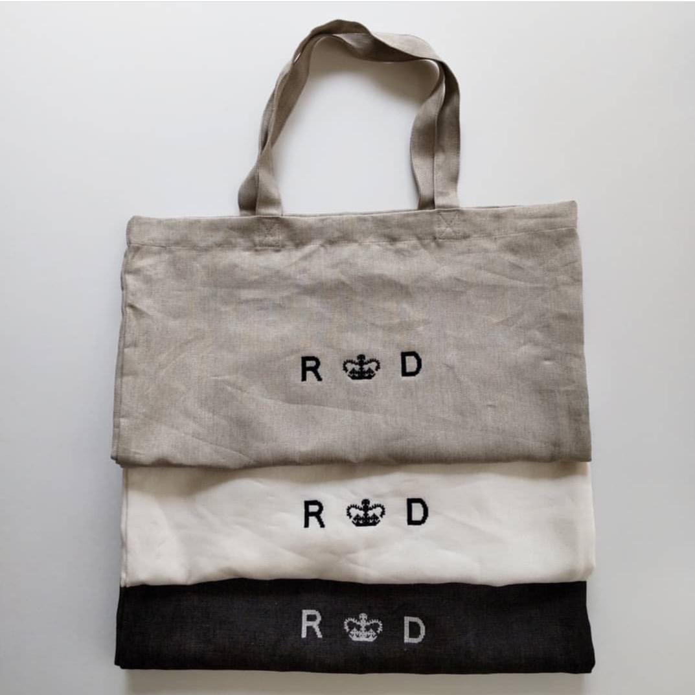 R&D.M.Co-LINEN DENIMTOTE BAG..._f0120026_06513940.jpg