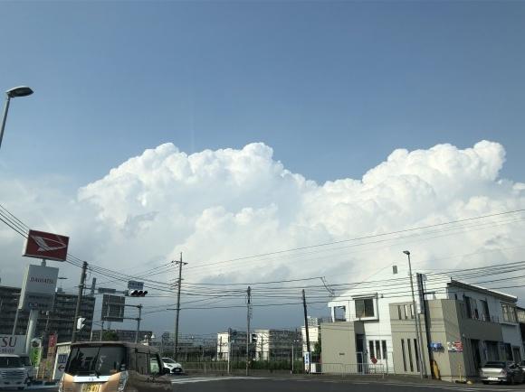 入道雲、最短の解決、_b0164428_00140196.jpeg