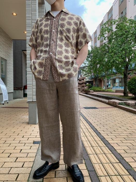 Dapper\'s classical pencil stripe linen easy pants_e0343648_00000755.jpeg