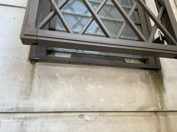 外装工事の防汚水切り_c0019551_19351572.jpg