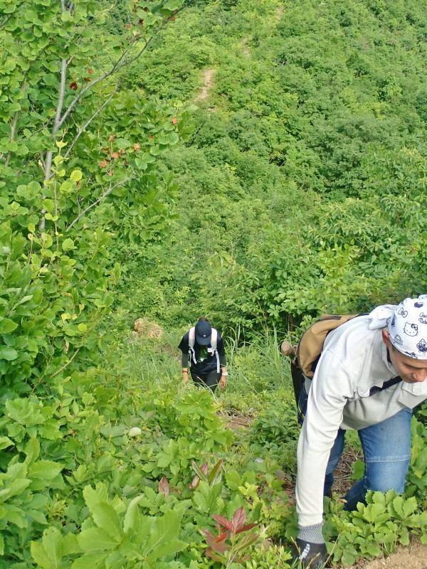 浦佐の西山へ二つの城跡を巡るコースへ_c0336902_21471069.jpg