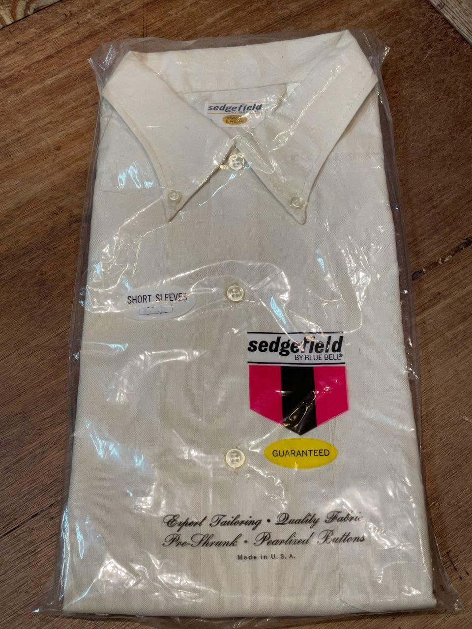 6月3日(木)入荷!60s デッドストック all cotton  deadstock Bluebell Sedgefileld B.D shirts! /ボタンダウンシャツ_c0144020_13223673.jpg