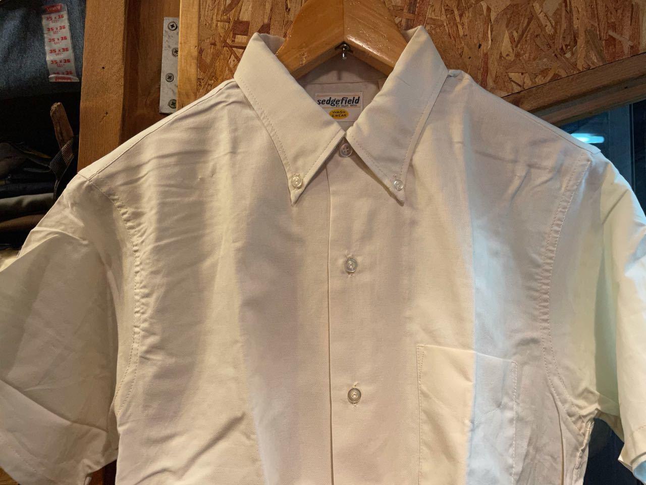 6月3日(木)入荷!60s デッドストック all cotton  deadstock Bluebell Sedgefileld B.D shirts! /ボタンダウンシャツ_c0144020_13224616.jpg